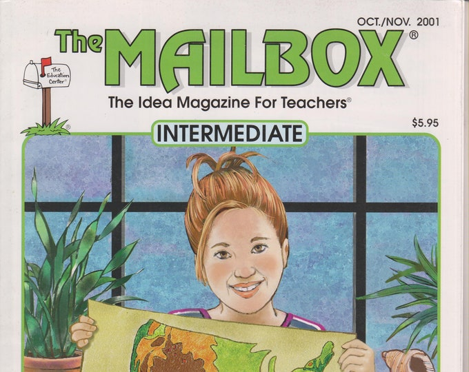 The Mailbox Intermediate October November 2001 Characterization, Football Math, Landscapes, Light & Color (Magazine:  Educational, Teaching)