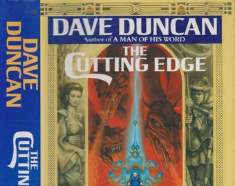 The Cutting Edge  by David Duncan (Part One of A Handful of Men)  (Hardcover: Fantasy) 1992 First Edition