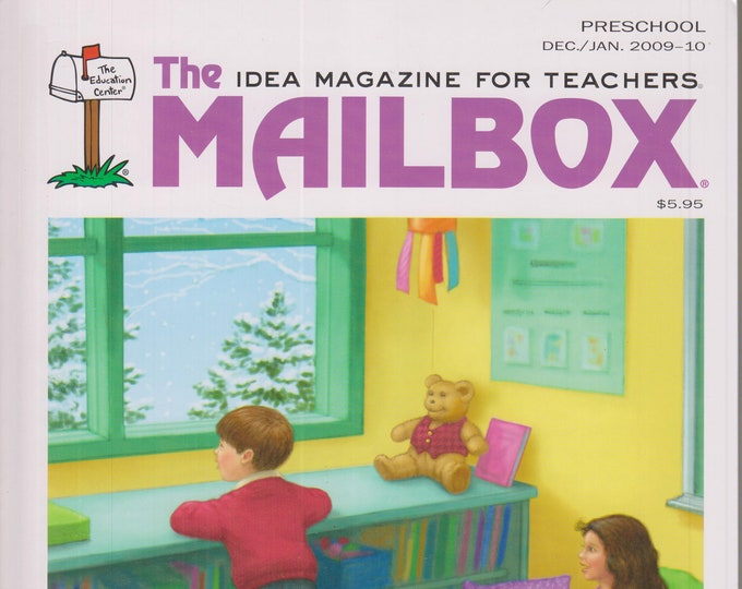 The Mailbox Preschool  December 2009 January 2010 Penguins, Ice, Cozy Quilt Centers, Numbers  (Magazine: Children's,  Educational, Teaching)