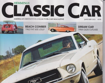 Hemmings Classic Car January 2021 America's Show Pony (Ford Mustang)  (Magazine: Automotive)