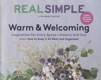 Real Simple October 2020 Warm & Welcoming - The Home Issue  (Magazine: General Interest)