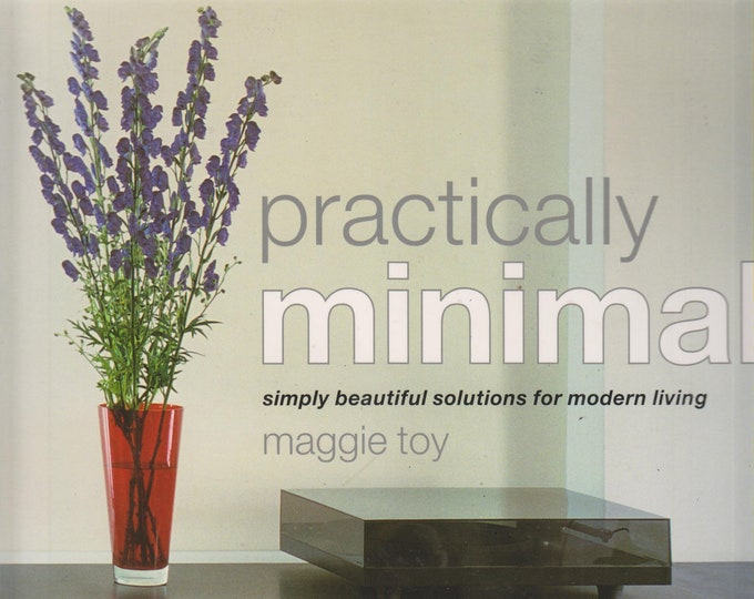 Practically Minimal - Simply Beautiful Solutions for Modern Living   (Softcover: Home Decor) 2003