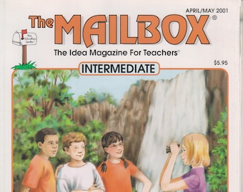The Mailbox Intermediate April May 2001 Persuasive Writing, Simple Algebra, US Regions & National Parks (Magazine:  Educational, Teaching)