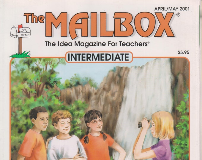 The Mailbox Intermediate April May 2001 Persuasive Writing, Simple Algebra, US Regions & National Parks (Magazine:  Educational, Teaching)