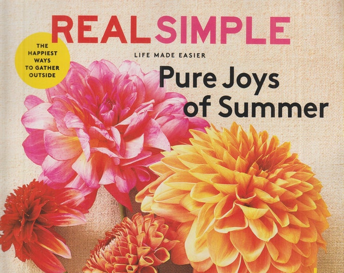 Real Simple July 2020 Pure Joys of Summer  (Magazine: General Interest)