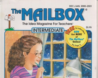 The Mailbox Intermediate December January 2001 Word Analysis Skills, Fractions, Physics, The Renaissance (Magazine:  Educational, Teaching)