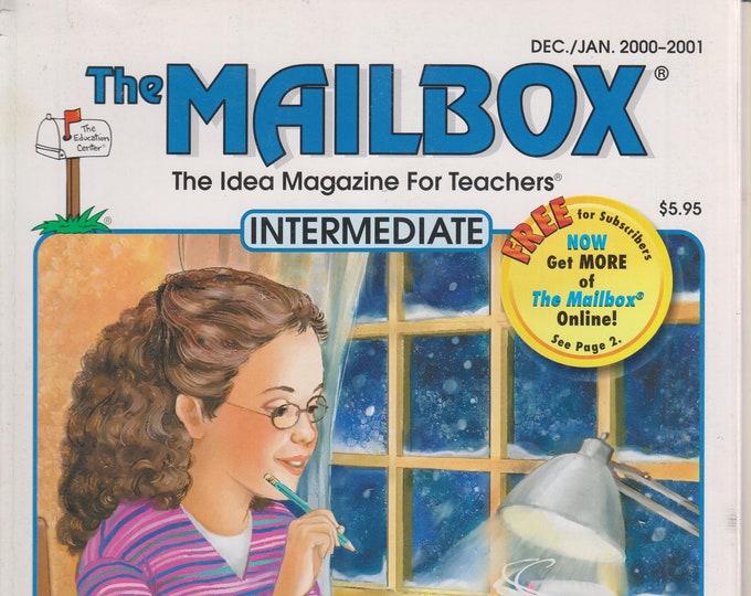The Mailbox Intermediate December January 2001 Word Analysis Skills, Fractions, Physics, The Renaissance (Magazine:  Educational, Teaching)