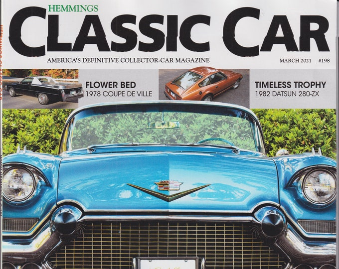 Hemmings Classic Car March 2021 Cadillac - Setting the Standard  (Magazine: Automotive)