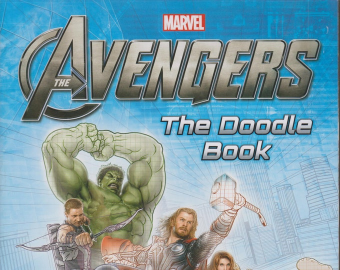 Marvel The Avengers The Doodle Book  (Softcover: Children's, Marvel Comics, Art, Activity Book) 2015
