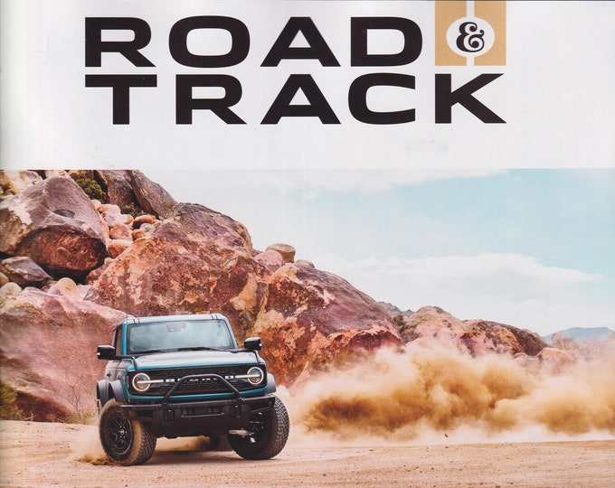 Road & Track  June July 2021 Get Off The Map Vol.5 Lost (Magazine: Cars, Automotive)