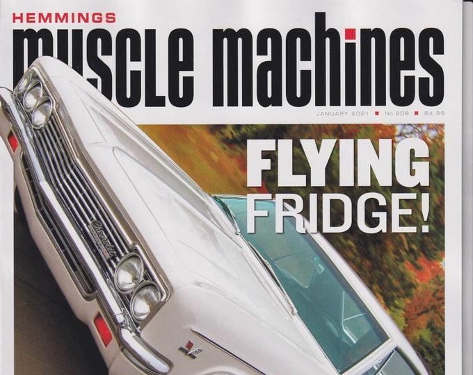 Hemmings Muscle Machines January 2021 Chevrolet Impala -Flying Fridge Big Blocks, Bodies, Power (Magazine: Fast Cars, Automobile)