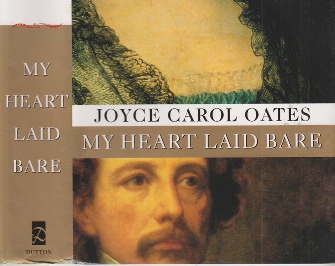 My Heart Laid Bare by Joyce Carol Oates (Hardcover: Fiction, First Printing) 1998