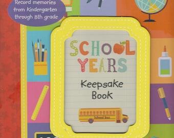 School Years Keepsake Book    (Hardcover: Kindergarten to 8th Grade) 2016