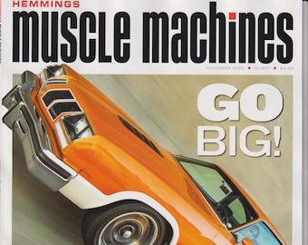 Hemmings Muscle Machines November 2020 Go Big! Restomod Rocket Olds 442  (Magazine: Fast Cars, Automobile)