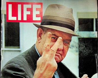 Life May 21, 1965 Courtroom Pictures of the Klan Trial, 60s Music, Neon Art, Pianist Horowitz, Edith Josie     (Magazine: History, News)