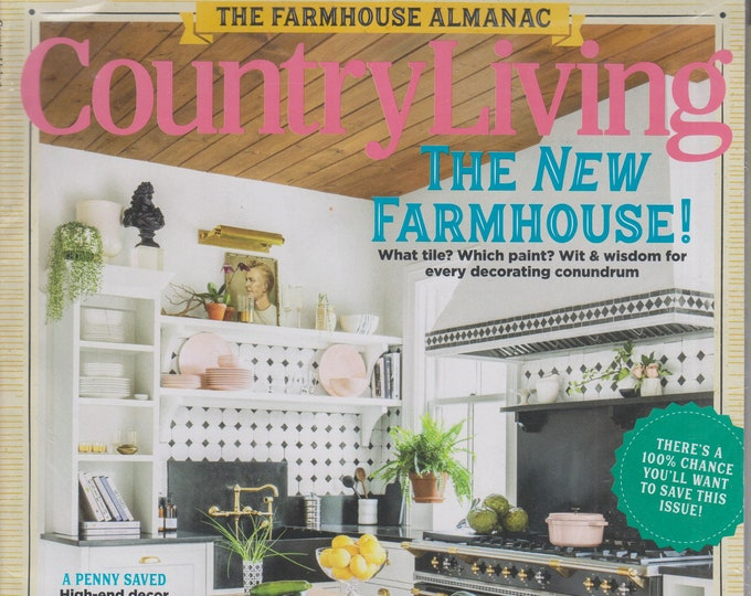 Country Living September 2019 The New Farmhouse!  (Magazine:  Home & Garden)