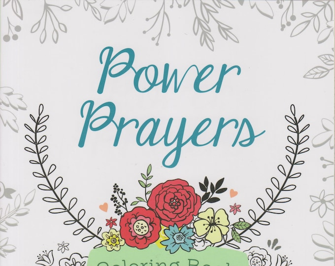 Power Prayers Coloring Book (Color Yourself Inspired)  (Coloring Book: Spiritual) 2016