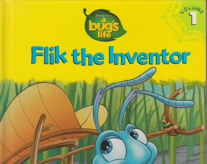 Disney Pixar A Bug's Life  - Flik The Inventory Volume 1  (Hardcover, Children's Picture book) 1998