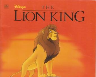 Disney's The Lion King (Golden Book) (Softcover: Disney, Children's)  1994