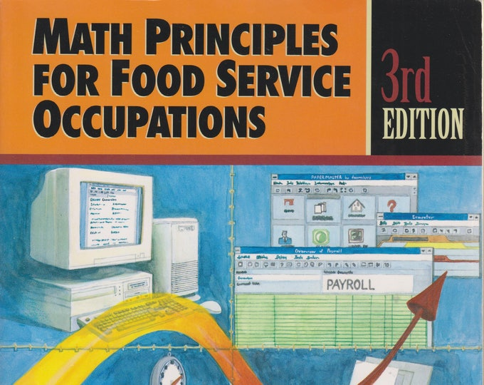 Math Principles for Food Service Occupations (Softcover: Restaurant, Business)  1996