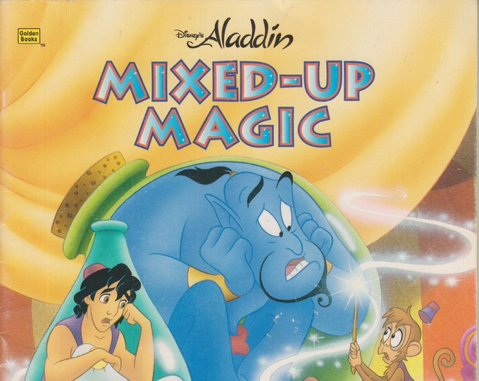 Mixed-Up Magic (Disney's Aladdin) Golden Books  (Softcover, Children's) 1995