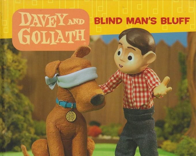 Davey and Goliath Storybook - Blind Man's Bluff by Sue Wright  (Hardcover: Children's, Religious) 2005