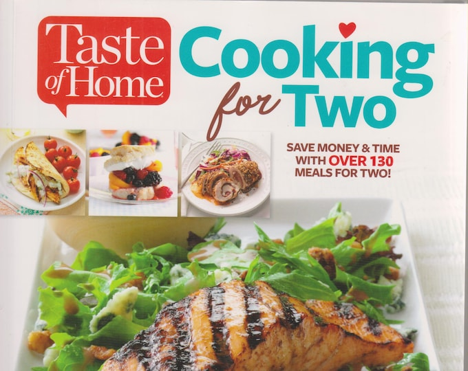 Taste of Home Cooking For Two  (Large Print)   (Paperback: Cooking, Recipes) 2017