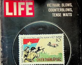 Life February 26, 1965 Vietnam, Plot to Blow up Statue of Liberty, Pop Art, Drug Addiction  (Magazine: History, News)