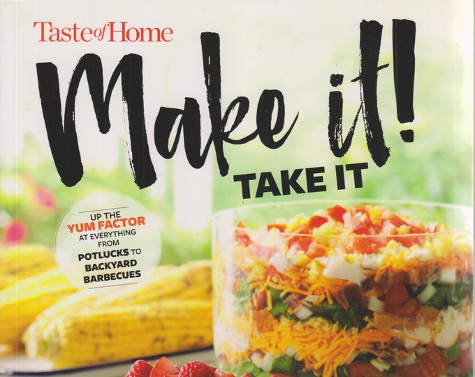 Taste of Home  Make It! Take it! (Softcover: Cooking, Recipes) 2018