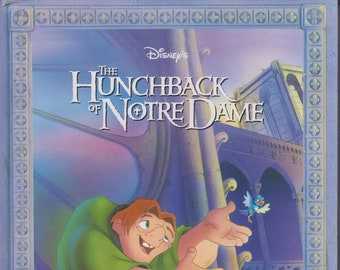 Disney's The Hunchback of Notre Dame: Illustrated Classic  (Large Hardcover, Children's)  1996 First Edition