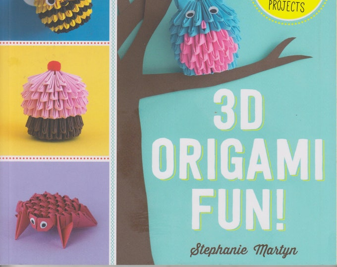 3D Origami Fun!  25 Fantastic Foldable Paper Projects (Softcover, Crafts, Origami)