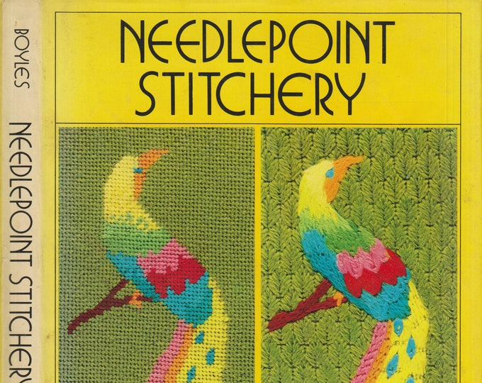 Needlepoint Stitchery by Margaret Boyles  (Hardcover: Crafts)  1972