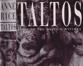 Taltos Lives of the Mayfair Witches by Anne Rice (Hardcover: Horror, Supernatural)