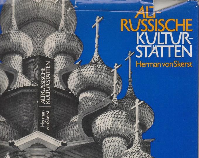AltRussische Kulturstatten (Hardcover: Russia Culture, German Language) 1975