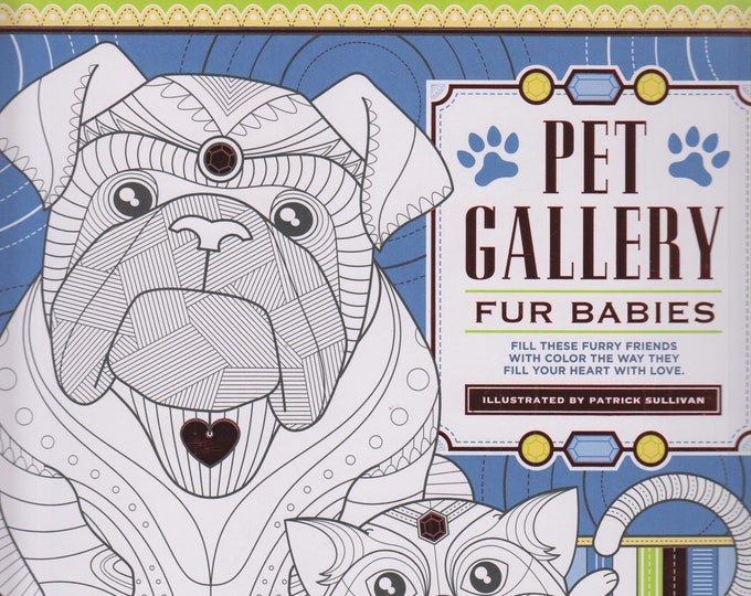 Pet Gallery  Fur Babies (Softcover: Coloring Book, Animals) 2016