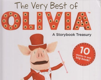 The Very Best of Olivia A Storybook Treasury  (Hardcover: Olivia, Children's, Picture Books)  2013
