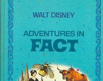 Walt Disney Adventures in Fact (Walt Disney Parade) (Hardcover, Children's, Educational)