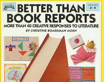 Better Than Book Reports Grades 2-6  (Softcover: Children's, Educational, Teaching) 1992