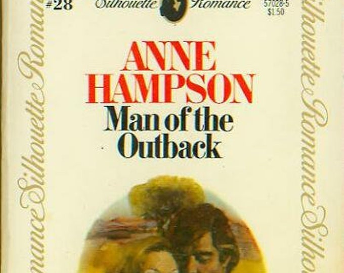 Man of the Outback by Anne Hampson (Paperback, Romance) 1980