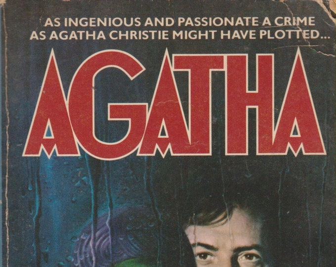 Agatha by Kathleen Tynan (Dustin Hoffman, Vanessa Redgrave Cover) (Paperback: Fiction, Movie Tie-in)