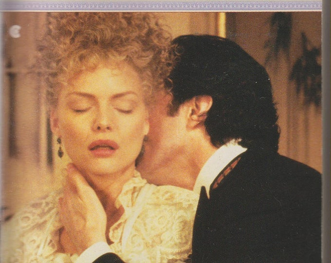 The Age of Innocence by Edith Wharton (1993 Michelle Pfeiffer Cover) (Paperback, Historical drama)