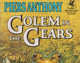 Golem in the Gears by Piers Anthony (Paperback, Fantasy) 1991