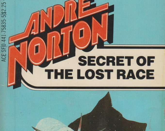 Secret of the Lost Race by Andre Norton (Vintage Paperback, SciFi, Fantasy)  1983