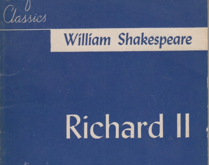 Richard II  Crofts Classics  (Softcover: Theatre, Plays) 1949