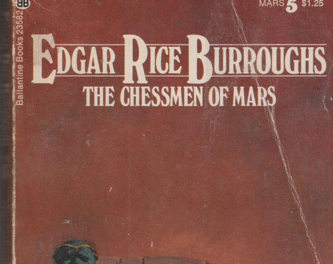 The Chessman of Mars by Edgar Rice Burroughs (Vintage paperback, Scifi, Fantasy)