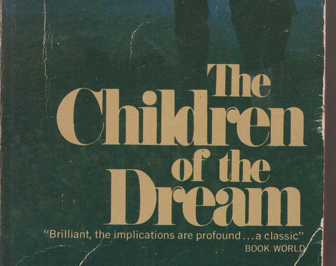 The Children of the Dream by Bruno Bettelheim (Vintage Paperback, Nonfiction, Communal Living)  1970