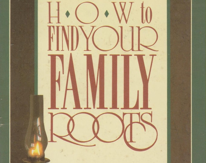 How To Find Your Family Roots by William Latham (Paperback, Genealogy ) 1988