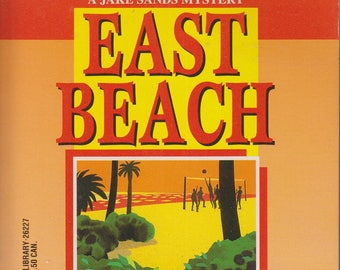 East Beach  by Ron Ely  A Jake Sands Mystery (Paperback, Mystery) 1997