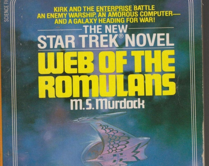 Star Trek Novel Web of the Romulans by M S Murdock (Paperback: TV Shows, SciFi, Fantasy) 1983