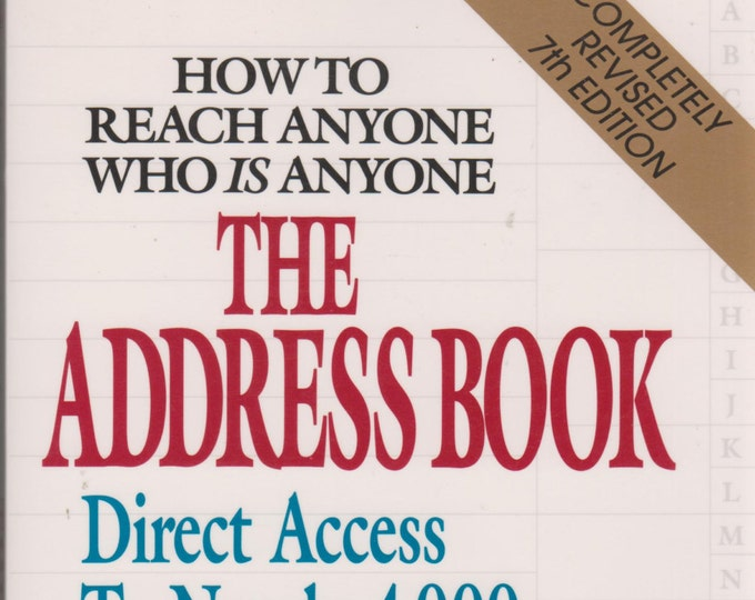 The Address Book - How To Reach Anyone Who is Anyone (Softcover, Celebrities) 1995